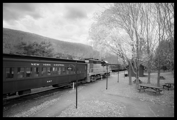 Arkville Fall Foliage Train in Delaware County, New York