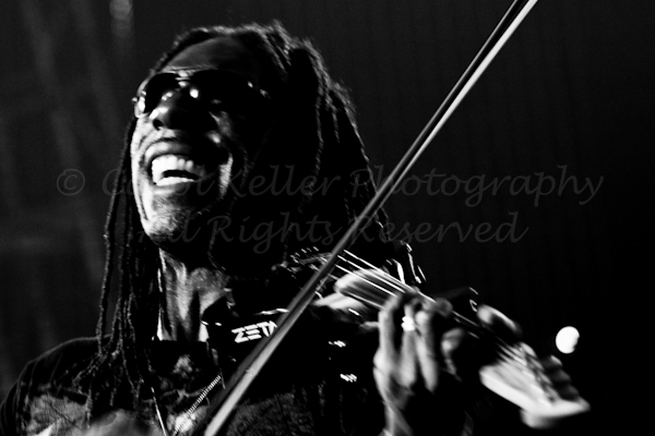 Boyd Tinsley in Black and White at UF in Gainesville, Florida